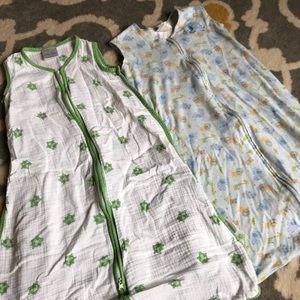 Two sleep sacks, large